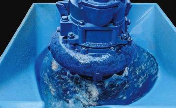 Pompa śrubowo-odśrodkowa