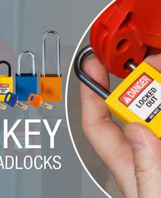 Safe Key padlock Brady