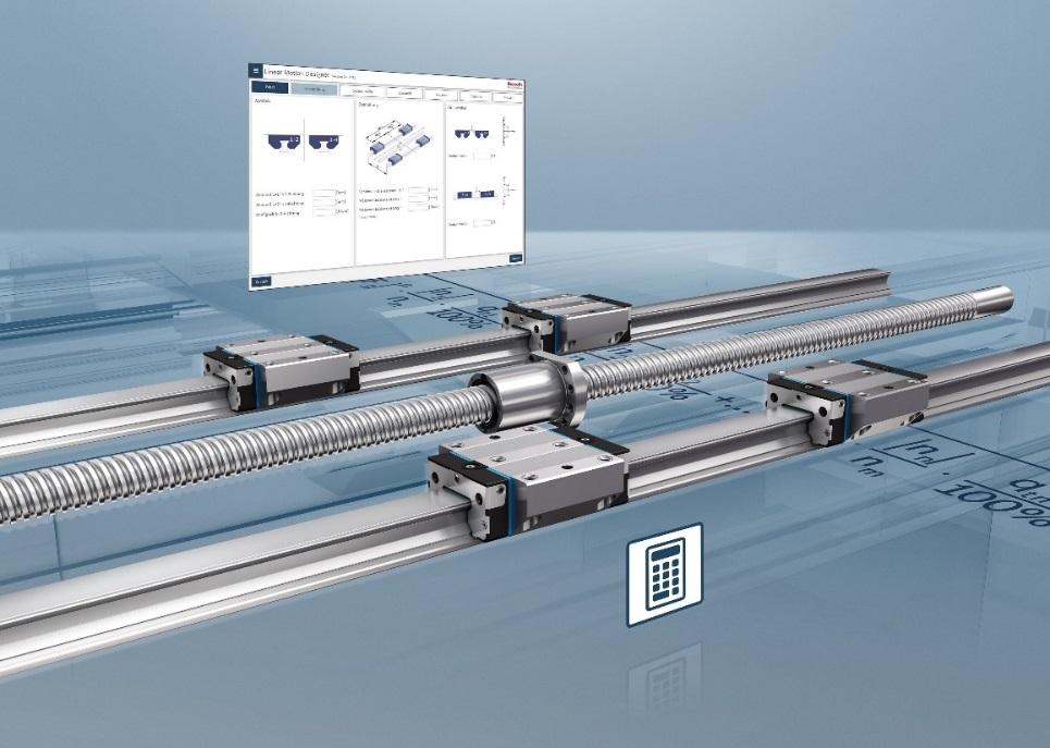urządzenia techniki liniowej Linear Motion Designer