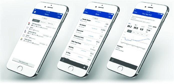 DeltaV Mobile Emerson DCS aplikacje mobilne